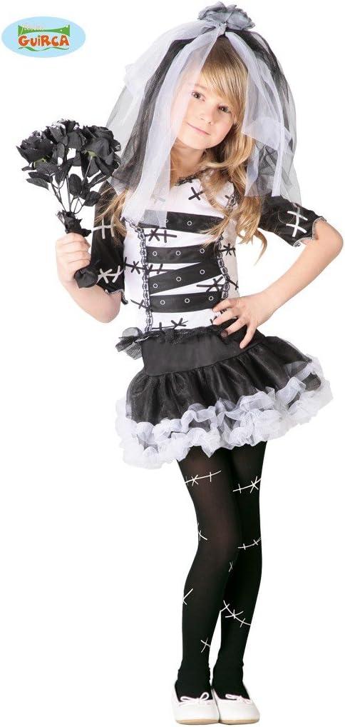 Guirca 82537 - Monster Bride Infantil Talla 7-9 Años: Amazon.es ...
