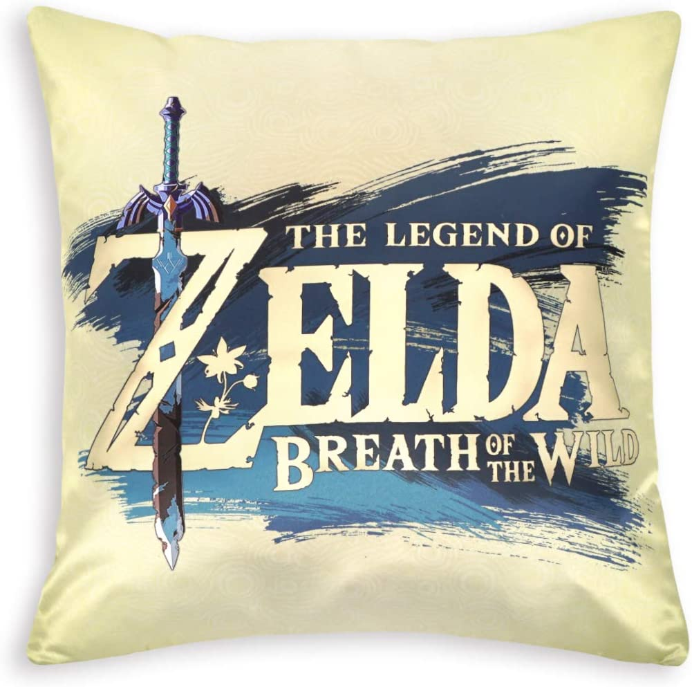 Motif : Lien cosplaystudio The Legend of Zelda Housse de Coussin d/écorative Motif Princesse Zelda 50 x 50 cm Polyester 50 x 50 cm