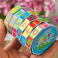 XKSIKjian Educational Toys, Children Kids Mathematics Magic Cube Puzzle Education Maths Toy Gift Skill Preschool Toddler Toy Learning Game