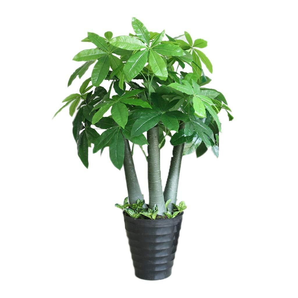 シミュレーションツリー人工木工場大きな鉢植えの床のリビングルームのインテリアプラスチック盆栽偽植物 (サイズ : 130cm) B07QV18FMD  130cm