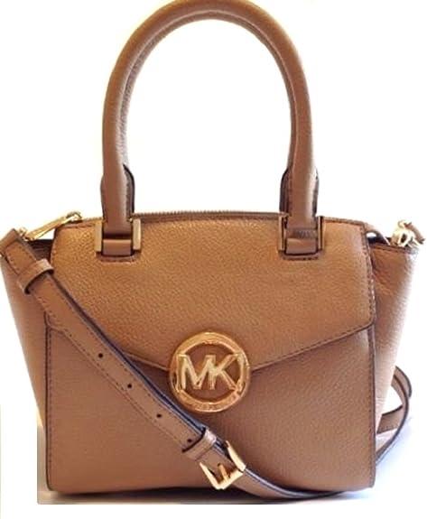 Michael Kors - Bolso estilo cartera de Piel para mujer, color marrón, talla M: Amazon.es: Zapatos y complementos