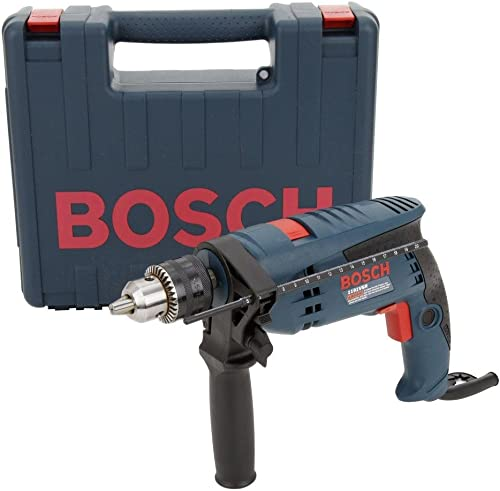 Bosch 1191VSRK-RT 1 2-Inch 7-Amp Corded Variable-Speed Hammer Drill w Case Renewed
