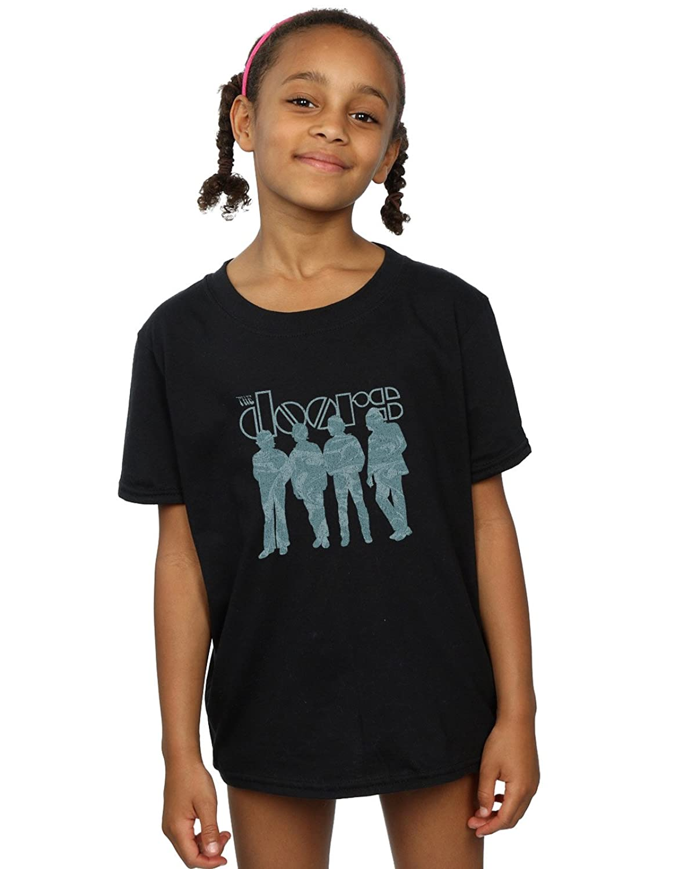 Amazon The Doors Girls Band Liquid T Shirt Clothing