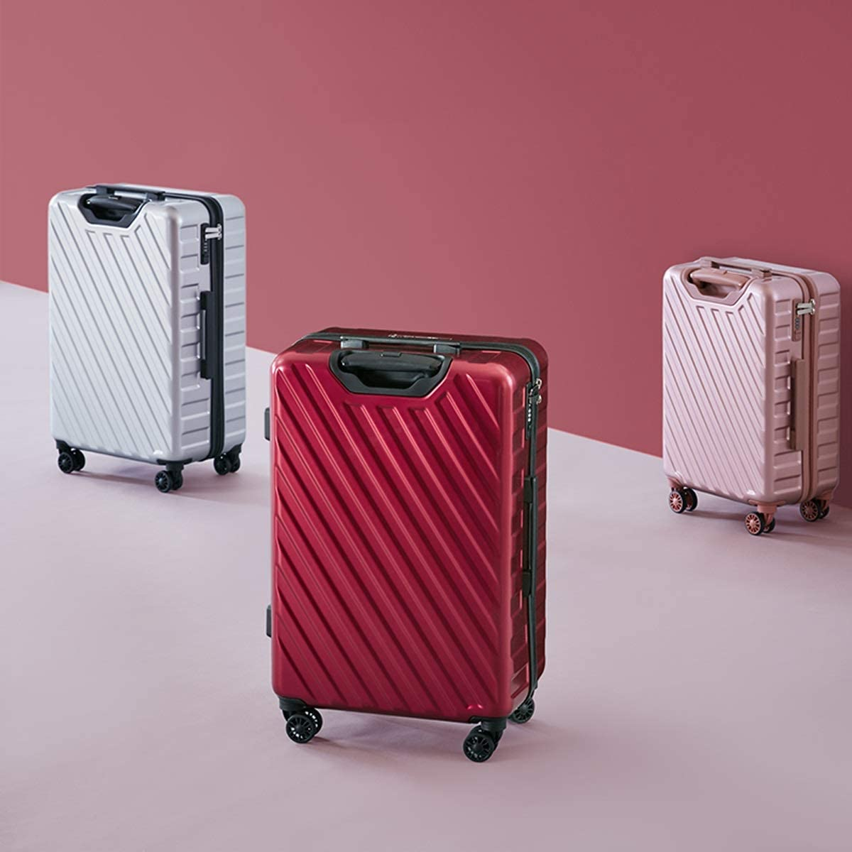 Xinqing Twill Suitcase Male and Female Students Trolley Case Boarding 20 Inch Universal Wheel Luggage Color Black Gray Size 50.53523.5cm Best Choice Product Color : Gray
