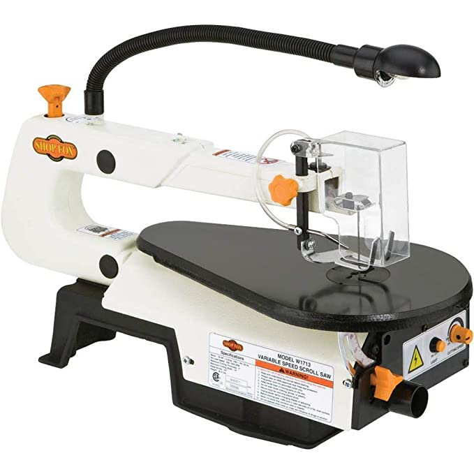 best scroll saw: Are you a new scroller? Try Shop Fox W1713