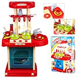Rayinblue Children KIDS ELECTRONIC PRETEND PLAY KITCHEN COOKER FOOD PAN SET COOKING Cooker TOY PLAYSET New Christmas gift
