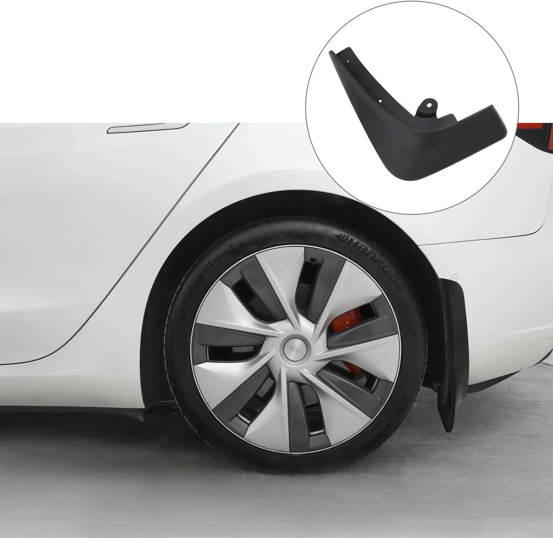 BASENOR Tesla Model X Mud Flaps Splash Guards Accessories Set of Four