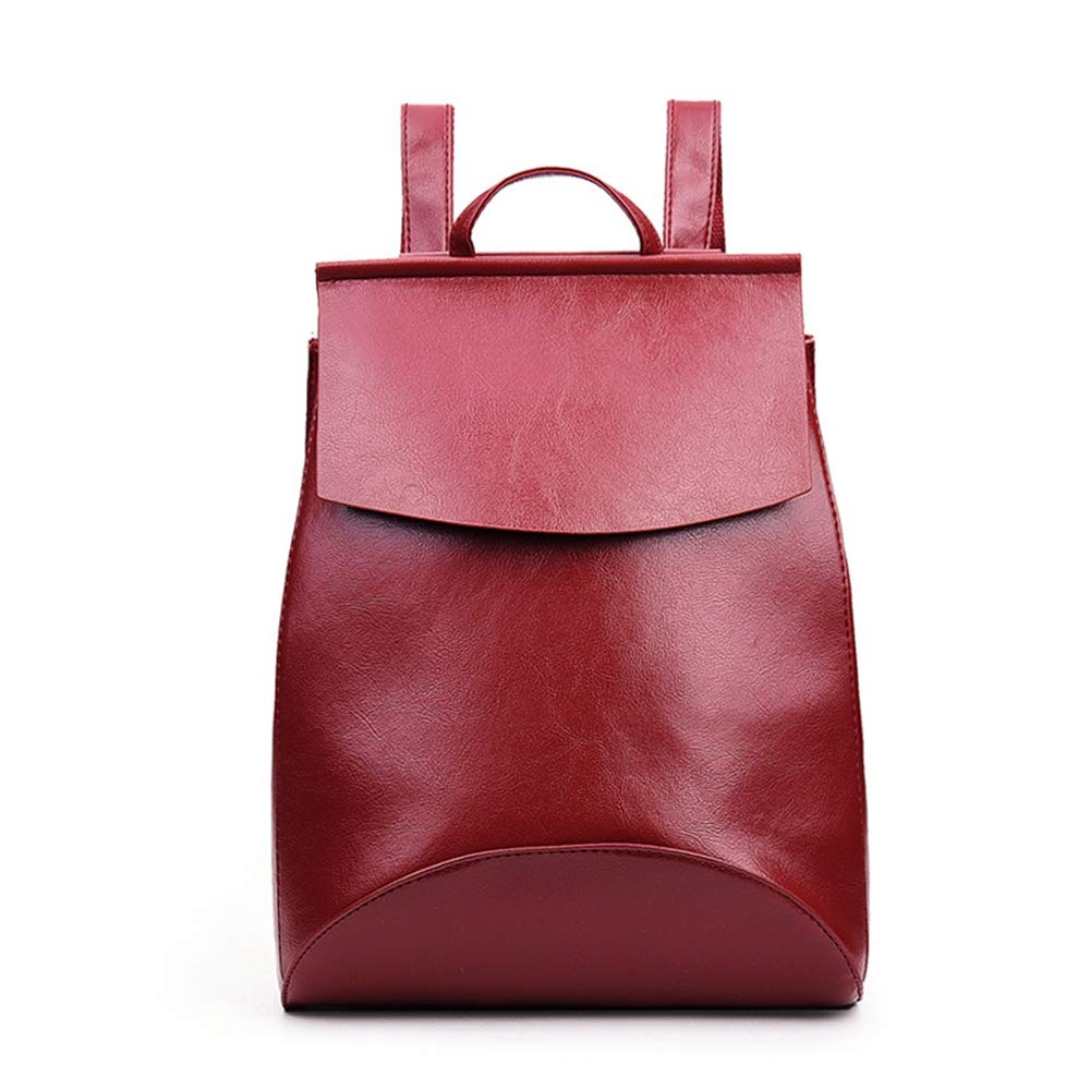 Sunwel Fashion Women's Pu Leather Backpack Purse Ladies Casual Shoulder Bag School Bag Daypack Rucksack