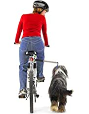 Dog Bicycle Exerciser Leash, FMJI Hands Free Bicycle Dog Leash for Exercising/Training/Jogging/ Cycling/ Outdoor