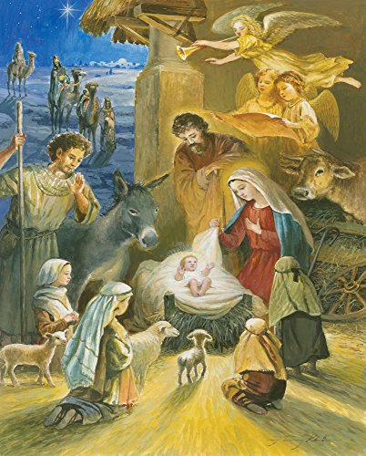Holy Infant Window Jigsaw Puzzle
