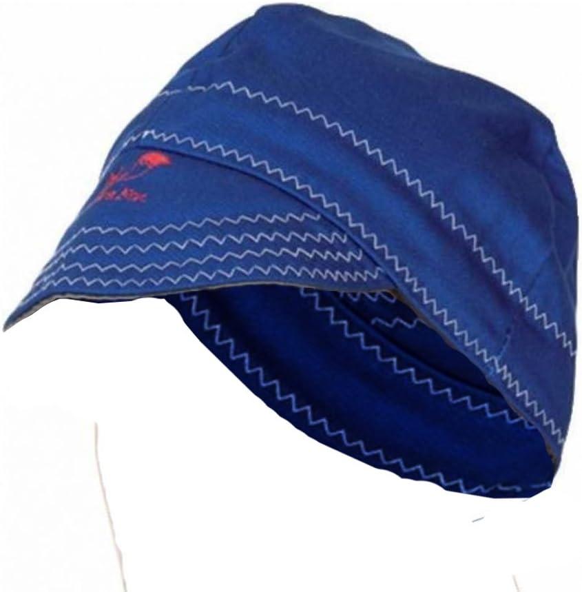 bleu Bonnet soudeur Tissu ignifuge 60/cm
