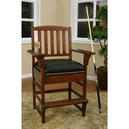 American Heritage 387216 King Billiard Game Room Chair, Suede