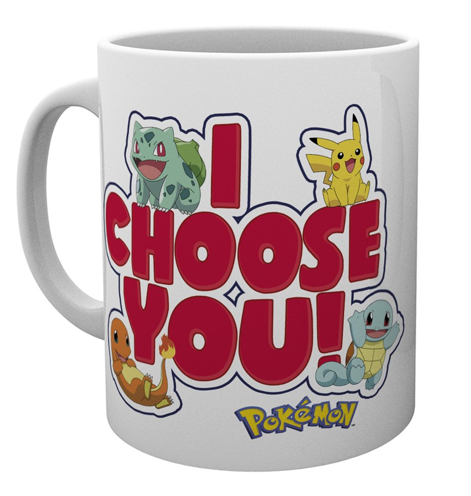 taza I choose You pokemon