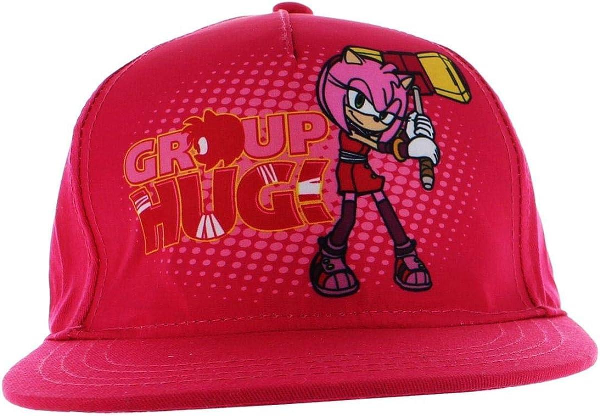 Pink Sonic the HedgehogGroup Hug Snapback Hat
