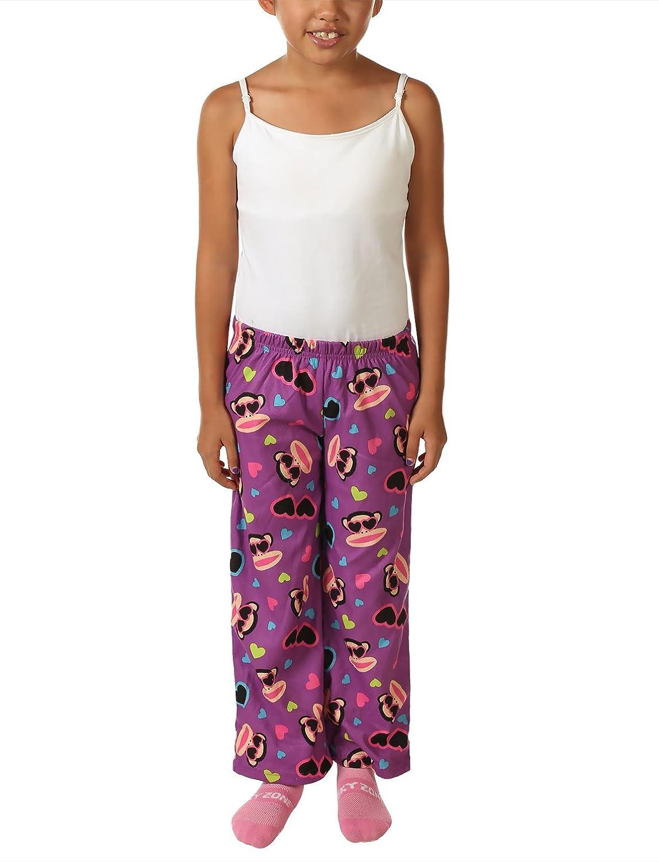 Paul Frank Girls Ultra Soft Print Pajama Pants Purple