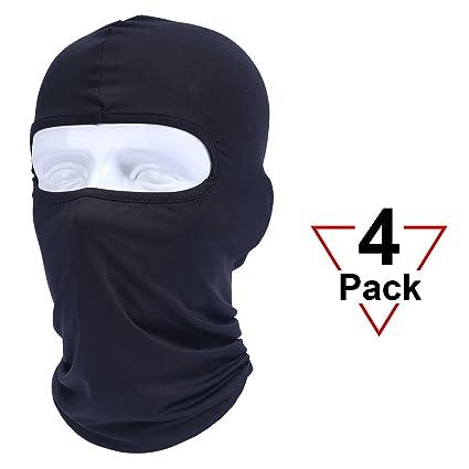 55de472f Does not apply. Lycra Full Face Mask Balaclava Ski Neck Summer Sun Ultra UV  Protection Military