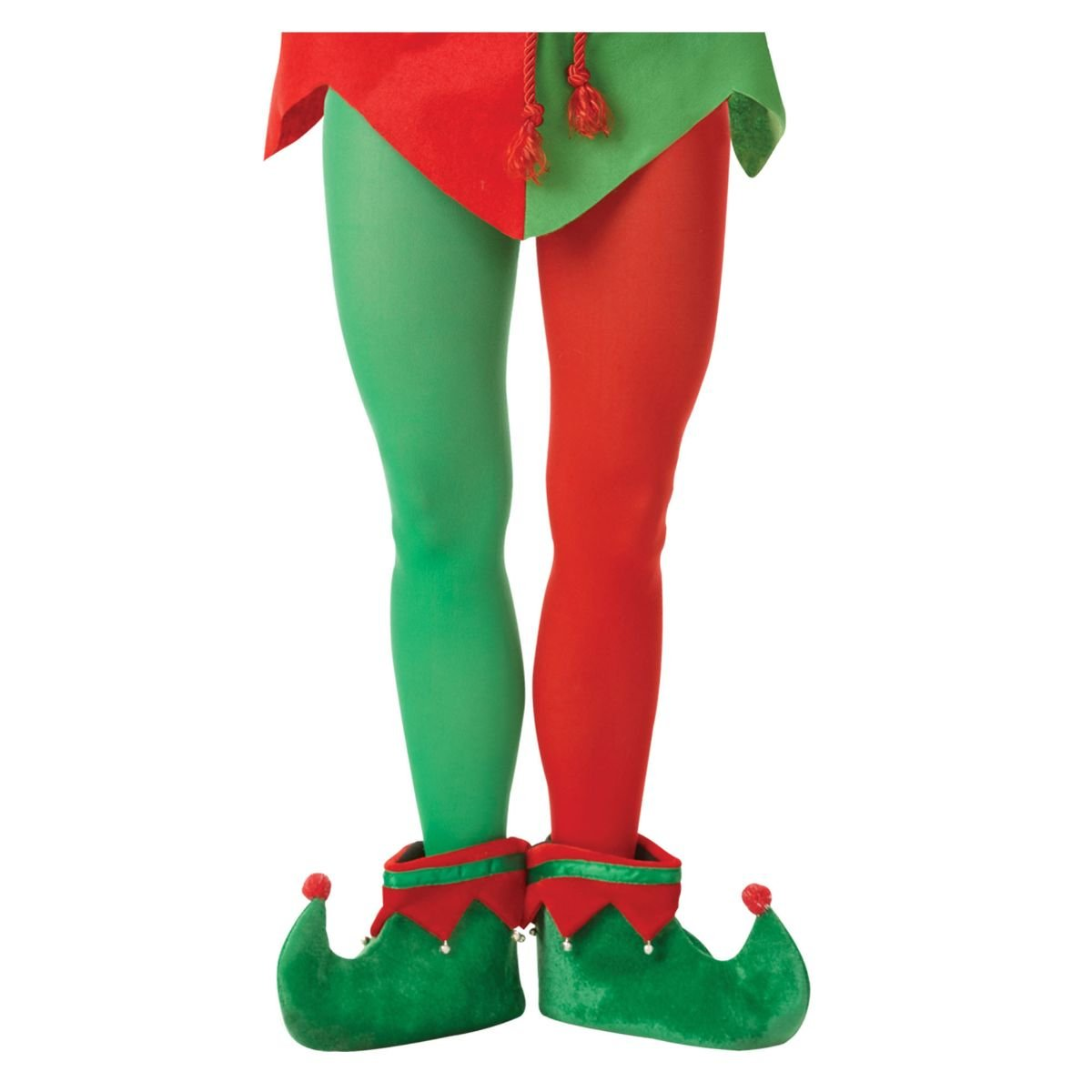 Amscan Christmas Plus Size Adult Elf Tights