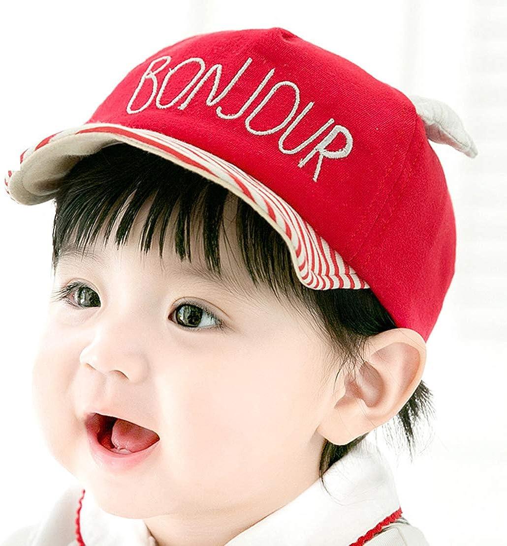 UTOWO Infant Baseball-Cap Toddler Bonjour-Baby Soft Baby Ball Hat