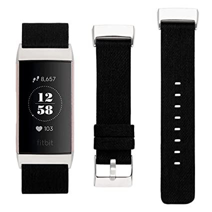 Amazon com : KWLET Compatible with Fitbit Charge 3 Bands Small for