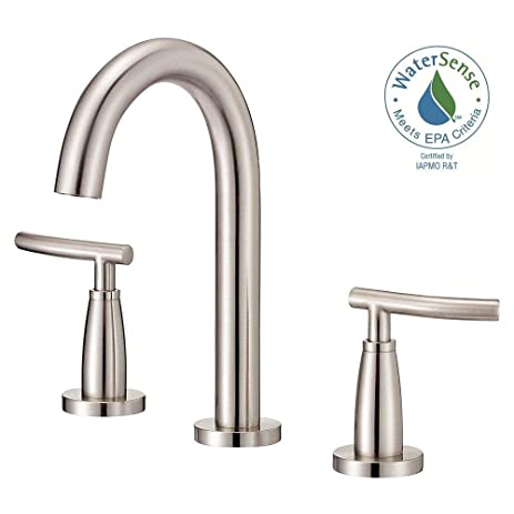 Danze - Sonora 4 in. 2-Handle Minispread Mid-Arc Bathroom Faucet in ...