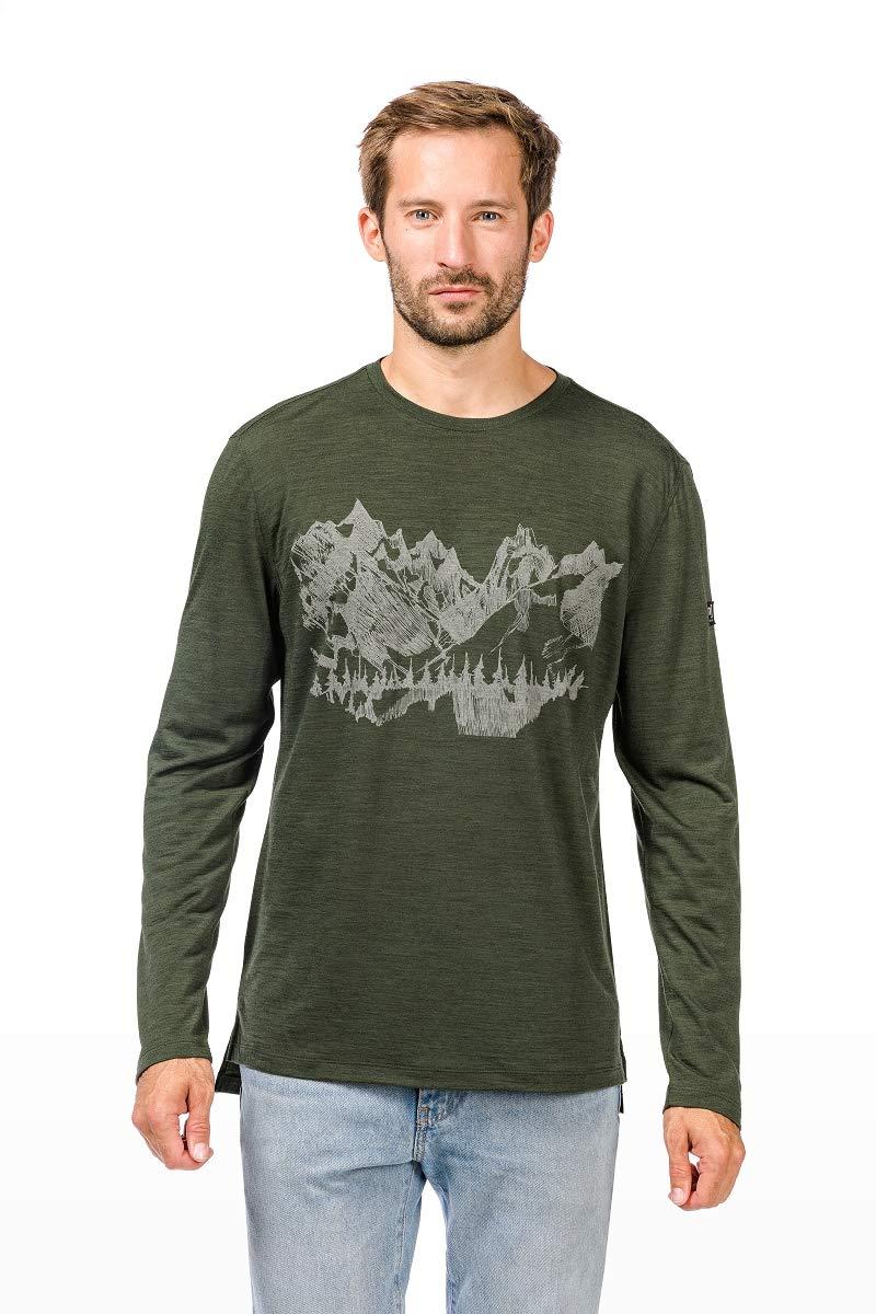 Super.natural Herren M Graphic 140 Merino T-Shirt