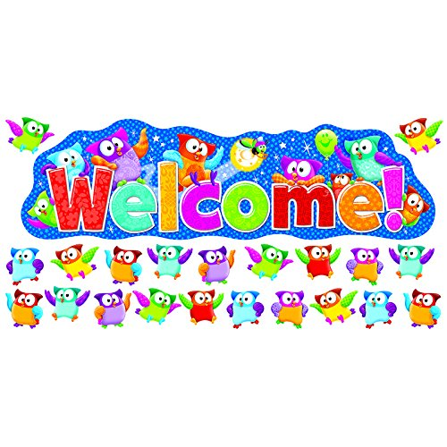 Trend Enterprises Owl-Stars! Welcome Bulletin Board Set (T-8367)