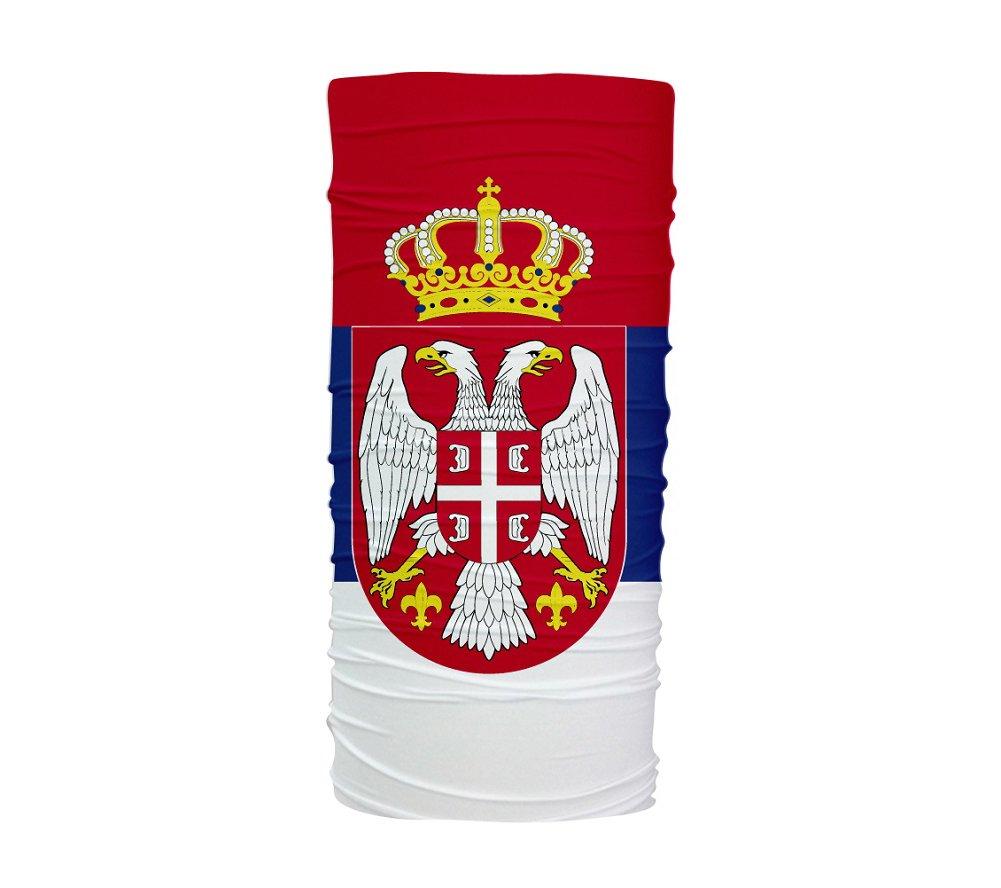 ScudoPro Flag Serbia Flag ScudoPro Multifunción Braga de Cuello Protección UV Tubular ad7c44