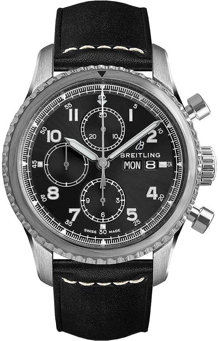Breitling Navitimer 8 Chronograph 43 Men's Watch (Ref # A13314101B1X1)