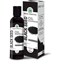 KORUS ESSENTIAL 100% Pure Black Seed Oil - 200Ml (6.76 Oz) - Premium Quality, Gmp Certified, Cruelty Free, Kosher And Halal Approved.