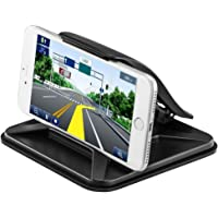 Car Phone Holder, Phone Holder for Car NonSlip Pad Dashboard Mobile Phone Car Mount Desktop Stand Universal Cradle for iPhone 7 7 Plus 6S 6 5S 5C, Galaxy S8 S7 S6 Note 5 4 All Smartphone