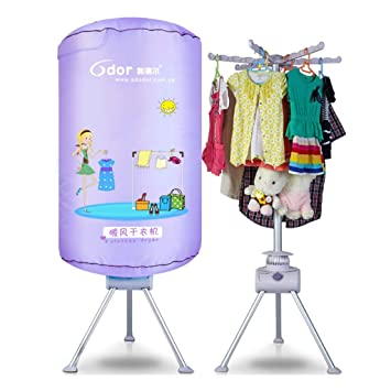 GUO@ 900W hogar secador de secado rápido multi-función calentador de espacio a prueba de agua ronda bebé plegable secador desinfección esterilización ropa ...