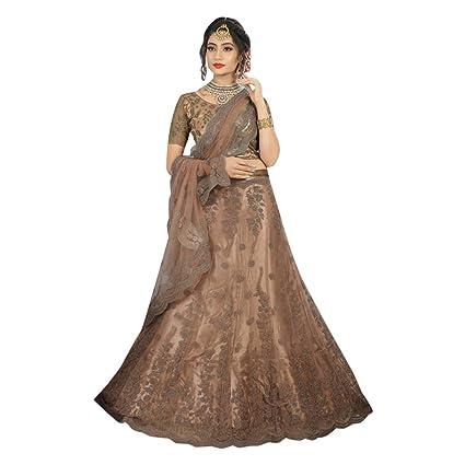 1ff22eb3d7 Amazon.com: Net Satin Stylish Lehenga Indian Party Function Designer Ghagra  Choli Designer Dupatta Muslim Women Festival 7307 (Color_2): Home  Improvement
