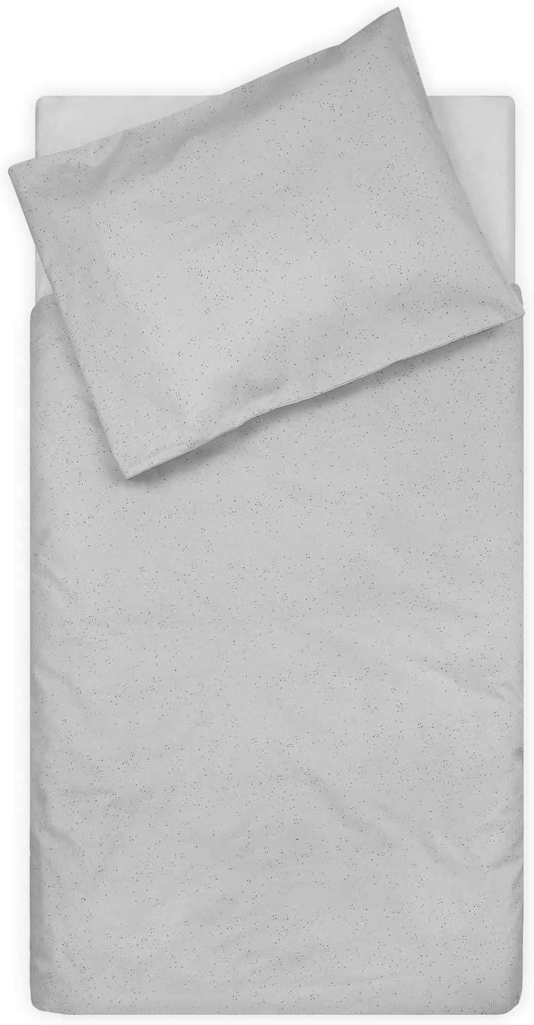 Mini Dots 100 x 140 cm Mist Grey Jollein Duvet Cover