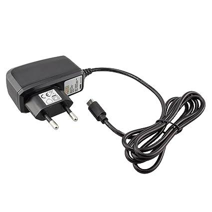 caseroxx Cable Cargador Micro USB Câble para Alcatel 1066D ...