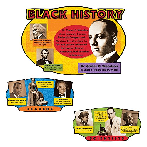Trend Enterprises Black History Bulletin Board Set (T-8095)