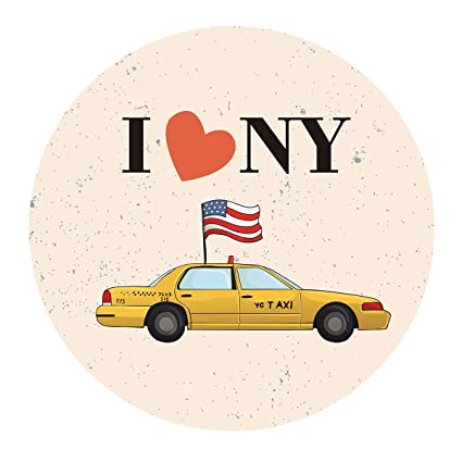 Amazon MAGJUCHE New York Themed Stickers I Love NY Birthday Party Favor Labels Decorations NYC 2 Inch 40 Pack Toys Games