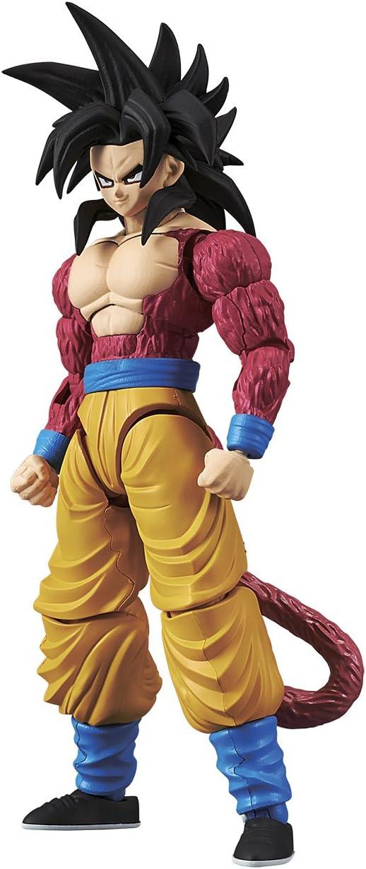 Bandai Hobby-Son Goku Super Saiyan 4 Model Kit 14 cm Dragon Ball GT Figure-Rise Standard 84086P (BDHDB144977)