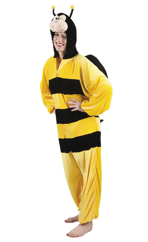 Fancy Ole - Damen Frauen Motto-Party Karneval Kostüm Honig Honig Honig Biene, Onesie, Komplett-Jumpsuit, One Größe, Gelb 4c2e59