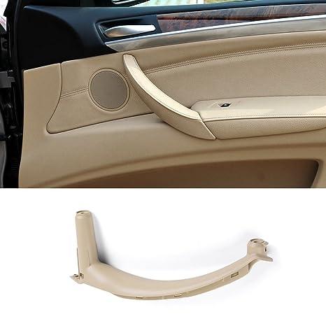 Jaronx For Bmw X5 X6 Door Pull Handle Inner Door Trim Grab Cover Passenger Side Right Front Right Rear Door Armrest Bracket Fits Bmw X5 2008 2013