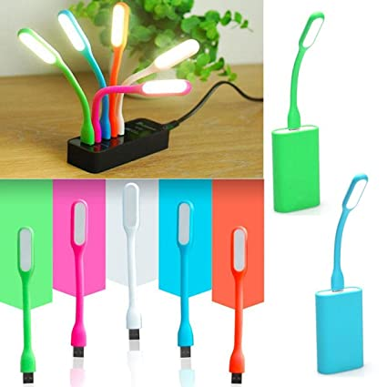 Jiada Kids Favourite Birthday Return Gifts Set Of 12 Portable Flexible USB LED Light Lamp