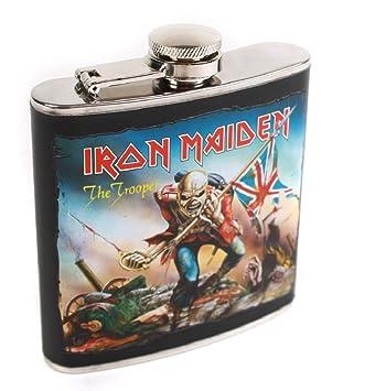 Fanartikel & Merchandise Kochen & Genießen Iron Maiden The Trooper Flachmann Verkaufspreis
