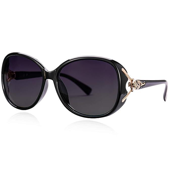 Amazon.com: Gafas de sol polarizadas para mujer Vegoos de ...