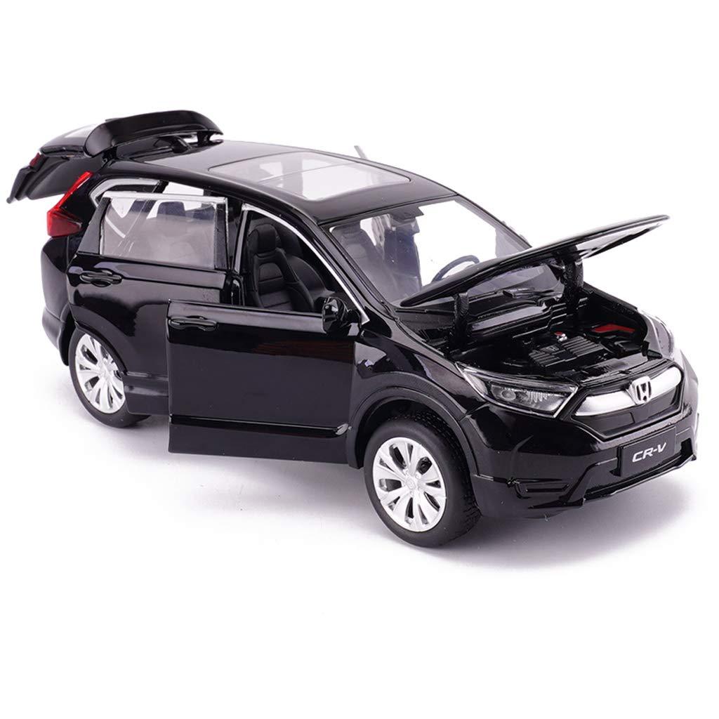 LBYMYB Coche Modelo Honda CRV vehículo Todoterreno 1:32 Modelo de Juguete de aleación de fundición a presión analógica Modelo de Coche 14.5x6x5.5 CM (Color ...