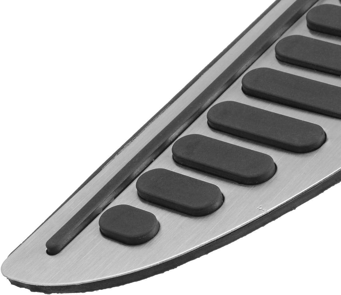 Tiamu Coche No Taladro Antideslizante Reposapi/és Reposapi/és Pedal Cubierta Adhesivo para Focus Fiesta Mondeo Accesorios de Coche