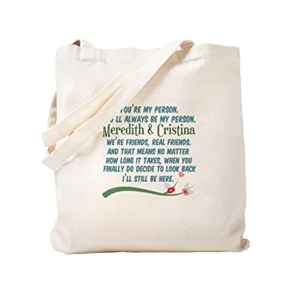 739e630a4e595b Amazon.com: CafePress - Meredith Cristina - Natural Canvas Tote Bag ...