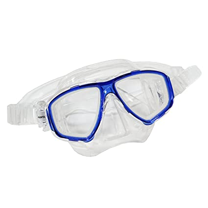 155b1a12f7 Scuba Blue Dive Mask NEARSIGHTED Prescription RX Optical Lenses (-1.0)