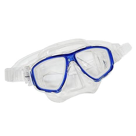 a26d2d932c2 Scuba Blue Dive Mask NEARSIGHTED Prescription RX Optical Lenses (-2.0)