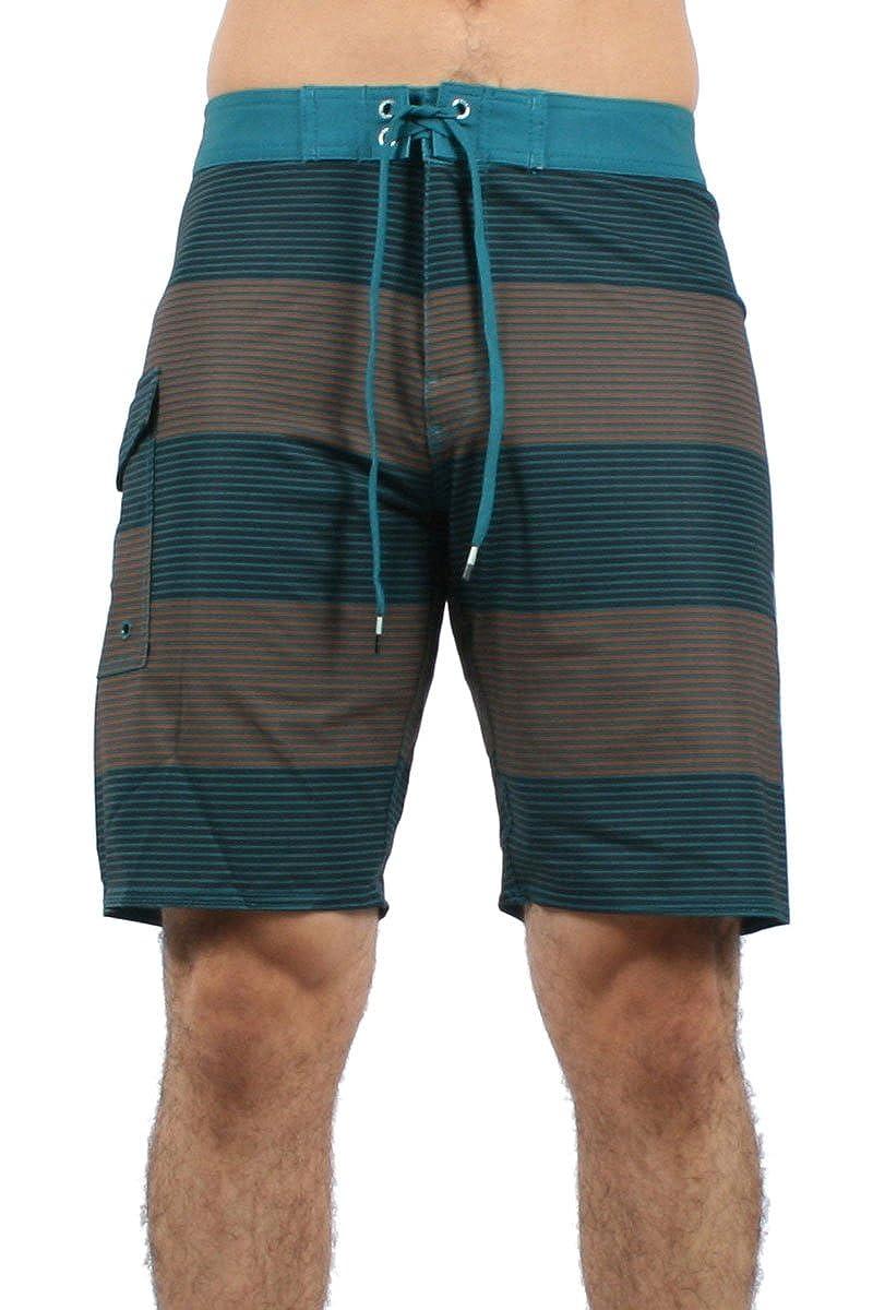 """RVCA - Männer Bürgerlichen 20 """"Board Shorts in schmutzigen Teal"""