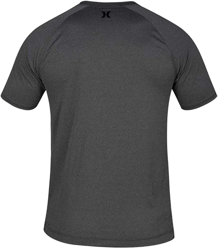 Hurley Mens Quick Dry Short-Sleeve T-Shirt Rash-Guard