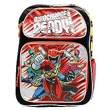 Power Rangers Dinocharge Ready! Boys Full Size School Backpack (16in)